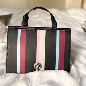 Zara Striped Top Handle Bag